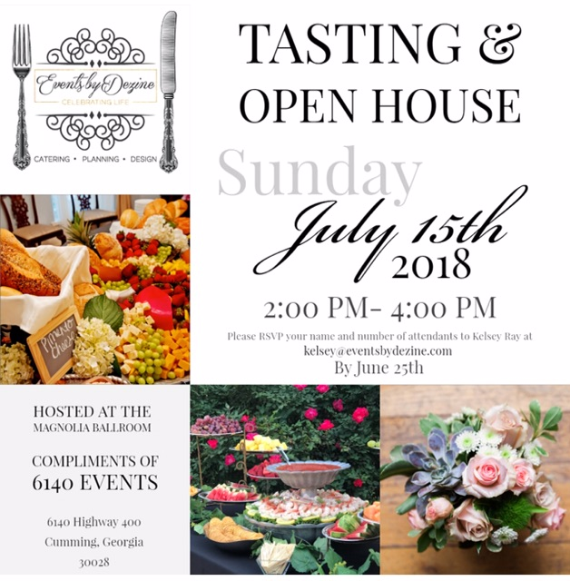 open house invite july 2018